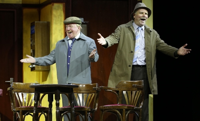 Still Game Live at the SSE Hydro in Glasgow. Photo by Marc Turner