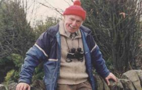 Scots Magazine photographer Barrie Marshall's 1992 photo of Tom Weir, which was taken for The Sunday Post