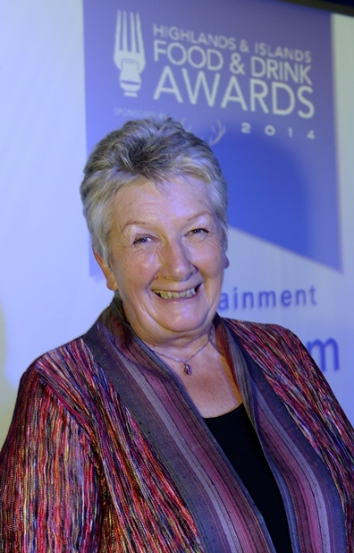 Highlands & islands Food & Drinks' Ambassador of the Year, 2014