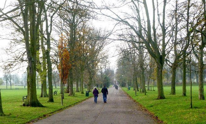 A walk through Inverleith Park