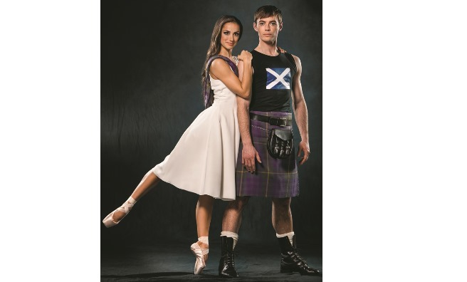 The shot chosen for the cover of the December 2014 issue of The Scots Magazine. Photo by Upfront Photography