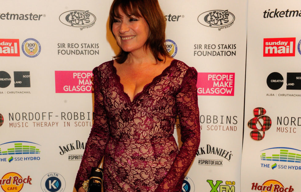 Lorraine Kelly at Nordoff Robbins Music Therapy Awards 2014