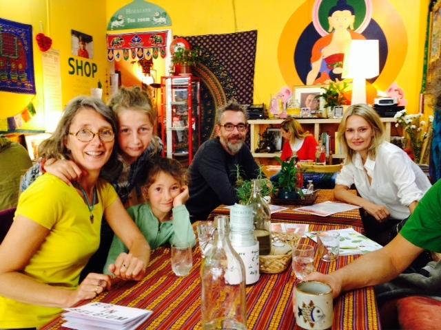Diners at The Himalaya Café