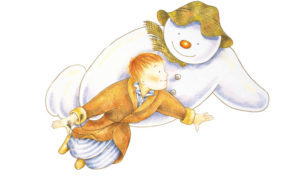 The Snowman will arrive at the Aberdeen Music Hall