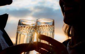 A toast to love on board The Royal Yacht Britannia