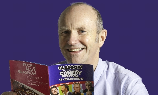Fred McAuley is at this year's Glasgow International Comedy Festival. Andrew Laing Photography