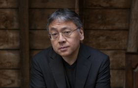Novelist Kazou Ishiguru. Photo by Jeff Cottenden