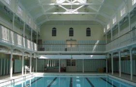 One of Edinburgh's Victorian swimming pools