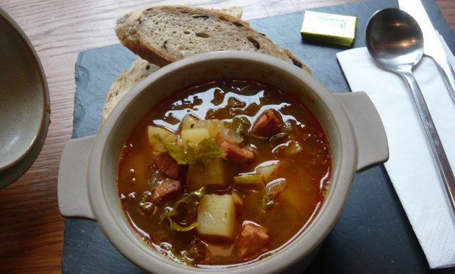 Soup is the speciality every day at Union of Genius