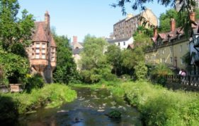 One of the most picturesque stretches of The Water of Leith. Photo by Bryce Morrison