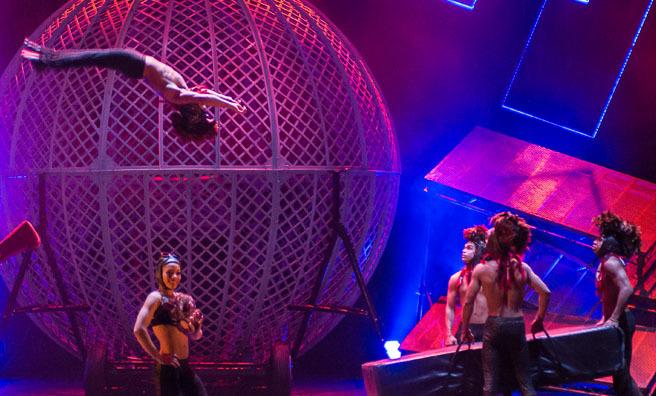 It's circus spectacular, spectacular across Scotland.