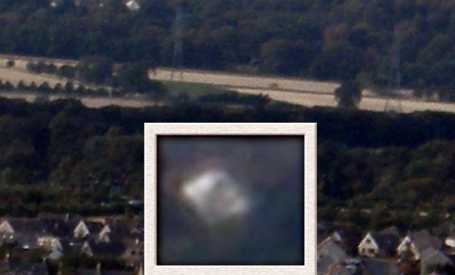 A possible UFO sighting over Gorebridge, near Edinburgh