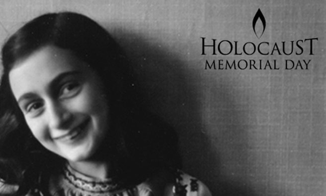 Anne Frank - Holocaust Memorial Day