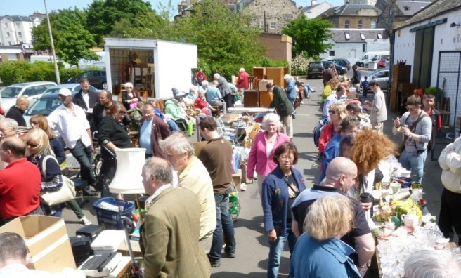 The weekly Lane Sale, every Thursday in Jane Street