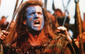 Braveheart - Mel in all his glory!