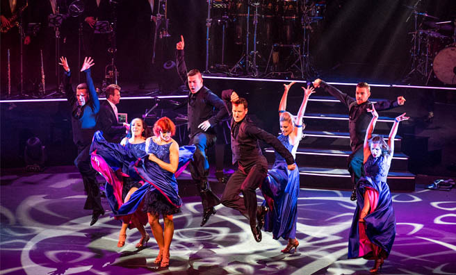 Brendan Cole brings A Night To Remember to Scotland. Image: Shane Finn