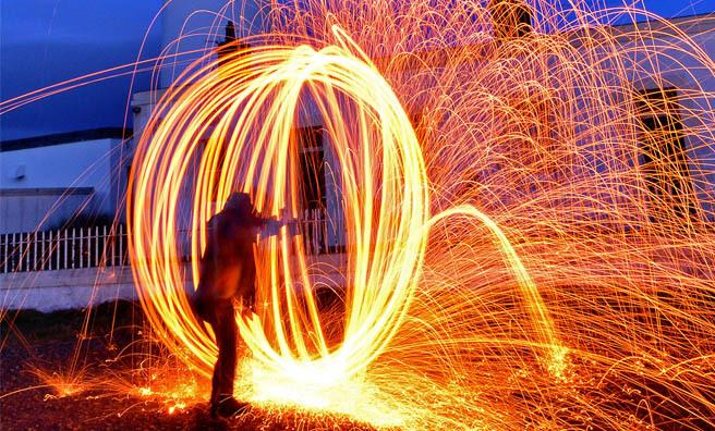 The Magic Lantern, part of Dunbar SciFest. Image: Jon Savage