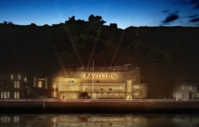 An artist's impression of the renovated Rothesay Pavilion, opening summer 2017