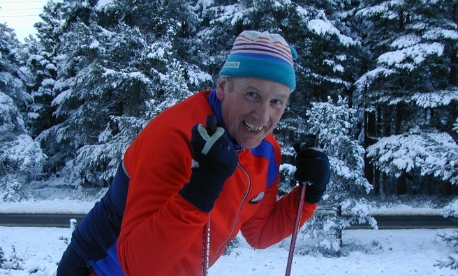 Ski instructor and cross country skiing expert Nigel Wells