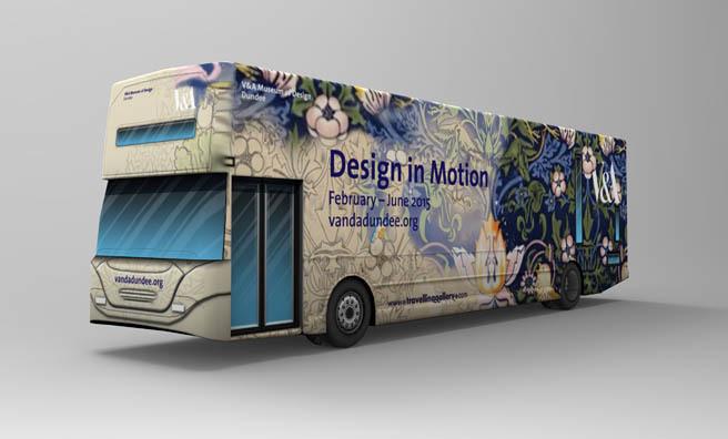 Design in Motion will tour across Scotland.