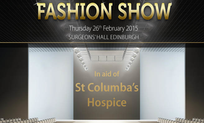 It's clothes, cake and champagne at Surgeon's Hall, Edinburgh.