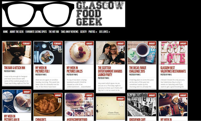 glasgow food geek blog