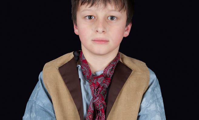 Alex Morrison as Oliver at The King's Theatre, Edinburgh