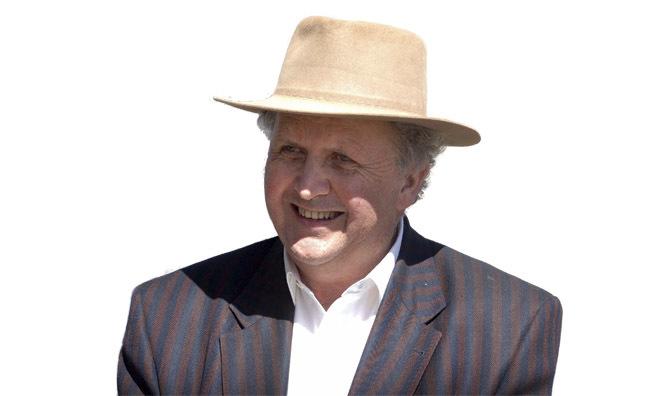 The author in Botswana (Pic: Chris Watt)