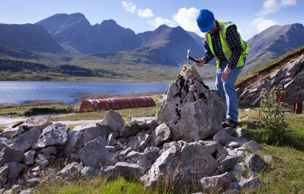 We investigate Scotland's rich fossil heritage. Alamy.
