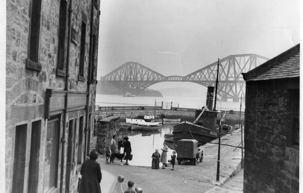 The view from South Queensferry in 1934