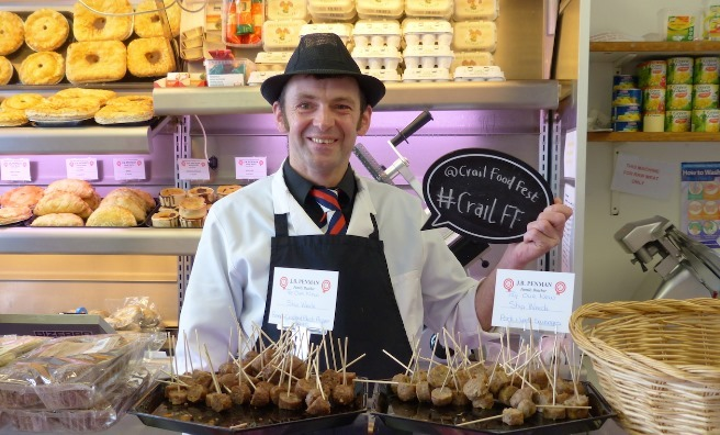 Local producers are very supportive of Crail Food Festival