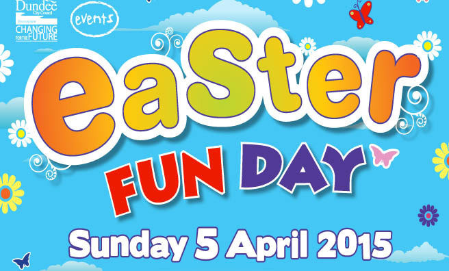 It's Easter Fun Day at Camperdown Country Park, Dundee.