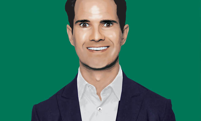 Jimmy Carr will perform Funny Business at Glasgow International Comedy Festival.