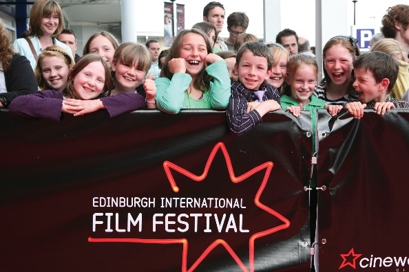 Young film fans at Edinburgh International Film Festival