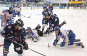 An action shot from a recent Dundee CCS Stars v Hull Stingrays game