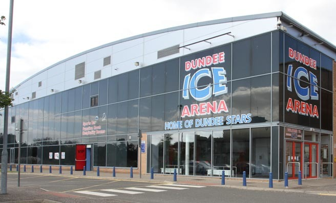 Exterior of Ice Arena