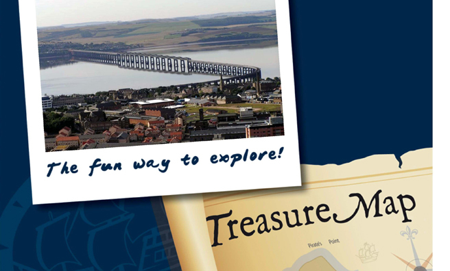 Explore Dundee and solve the clues!