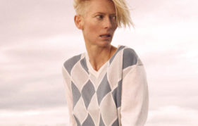 Tilda Swinton in Pringle Scotland, 2010. Image: Ryan McGinley