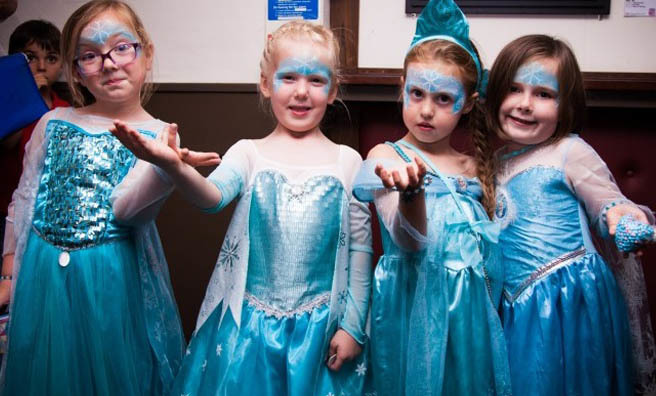 Dress up and 'Sing-a-long' to Disney's Frozen at the Edinburgh Festival Theatre.