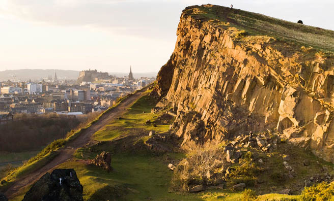 Learn more about Holyrood Park with Historic Scotland. Image: © Courtesy of Historic Scotland