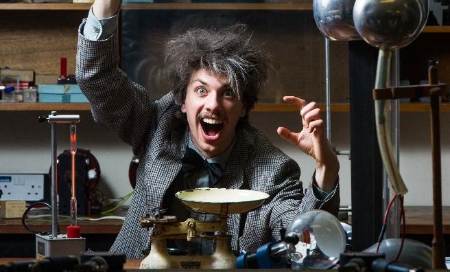 Albert Einstein: Relatively Speaking is one of the Pleasance highlights
