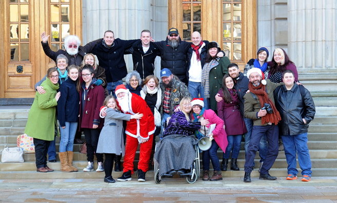 Some of the people who have participated in the Humans of Dundee project