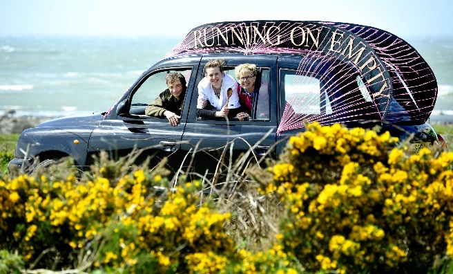 Look out for the the Running on Empty Black Cab during Spring Fling 2015