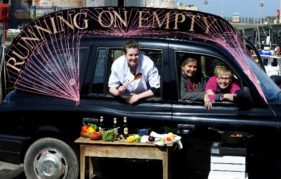 The Running on Empty team will be travelling across Dumfries & Galloway - and serving up delicious food wherever they go!
