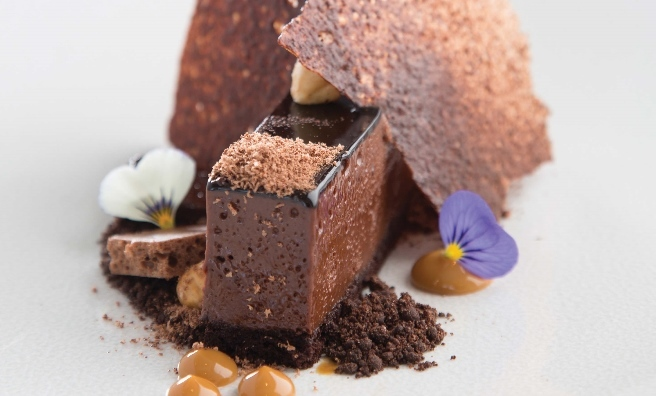Find out how to cook Rocca's stunning Chocolate and Pave Coffee Syrup dessert in Relish Scotland Third Helping - or just go along and try Jamie & co's version!