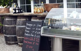The Oyster Bar at Mhor Festival