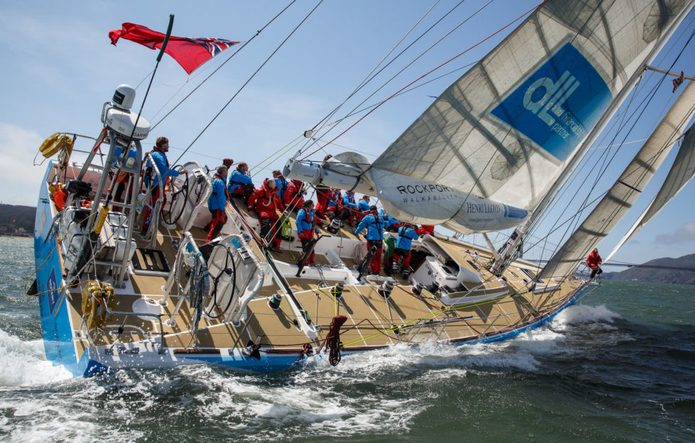 Meet the Ayrshire man sailing in the Clipper Round The World Yacht Race. Pic: Abner Kingman