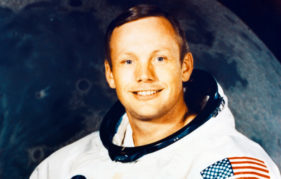 American astronaut Neil Armstrong
