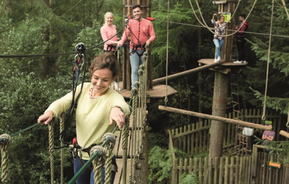 Wendy Glass takes to the Tree Tops with Go Ape on p86