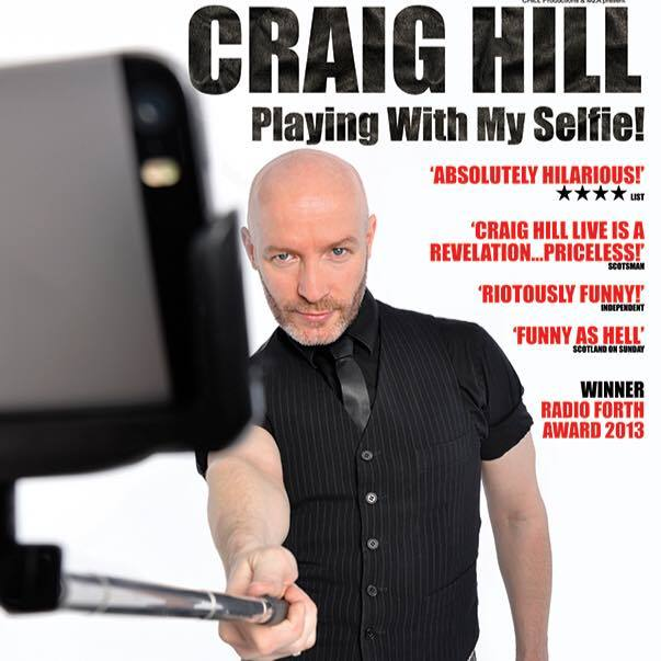 """Craig's new tour """"Playing With My Selfie""""... double entendre entirely intended"""